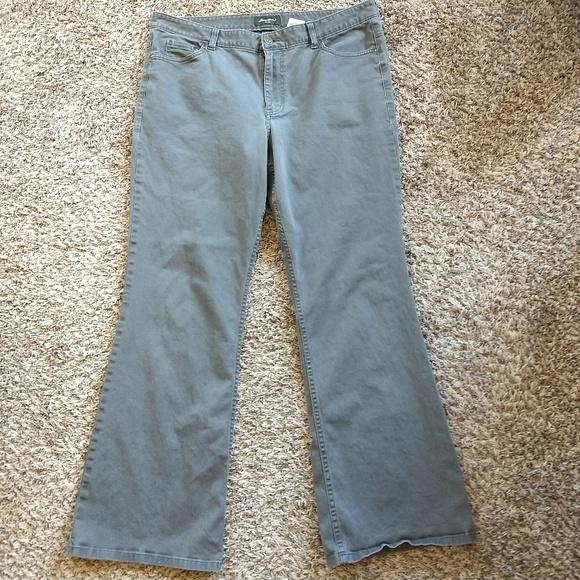 Ralph Lauren Pants - Eddie Bauer Women's Size 16 Olive Green
